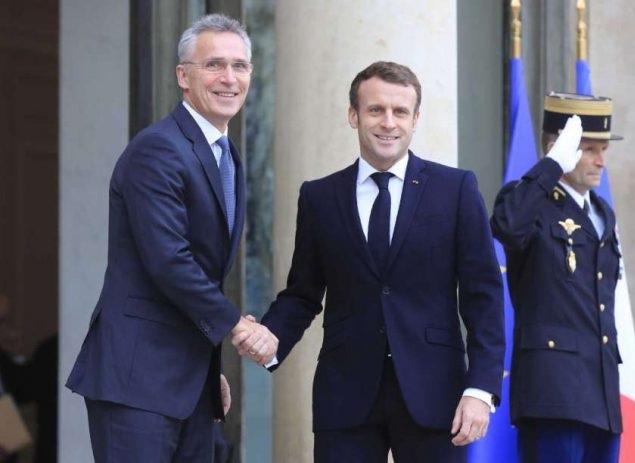 Macron - Stoltenberg meeting: NATO remains strong despite disputes