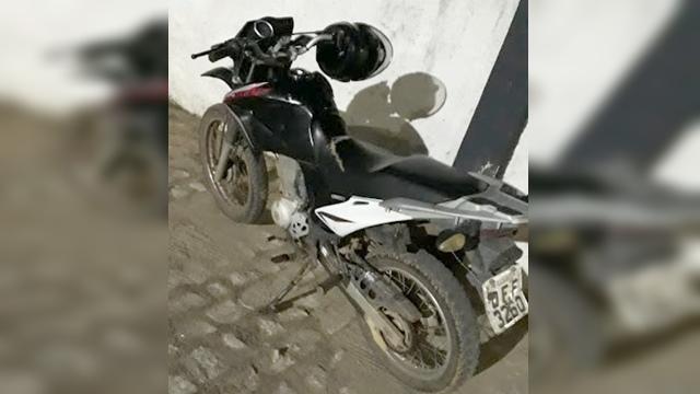 Moto do radialista Ângelo Lima é encontrada na cidade de Sousa PB