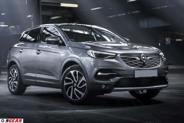 the new opel grandland x 2018 compact suv car reviews new car pictures for 2018 2019. Black Bedroom Furniture Sets. Home Design Ideas
