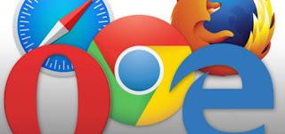 Google Chrome, Mozilla Firefox, Safari, Microsoft Edge, dan Opera