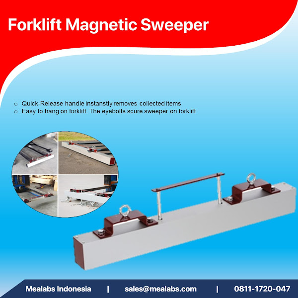 1131 Series Forklift Magnetic Sweeper