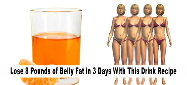 Try This Drink And Lose 8 Pounds Belly Fat In Just 3 Days !