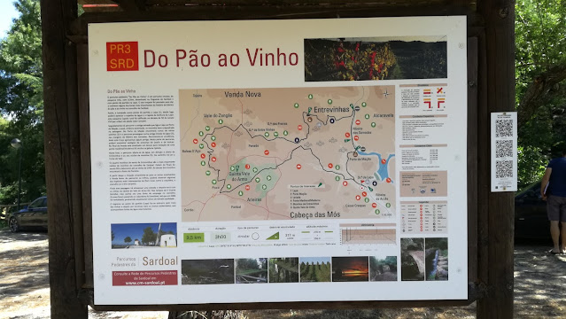 Percurso Pedestre - Do Pão ao Vinho