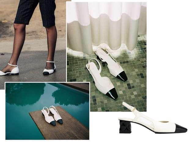 Los zapatos bicolor