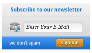 Email Subscription Widget 9