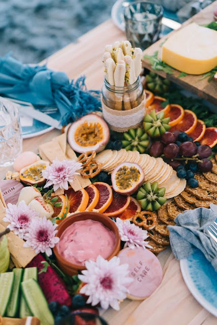 le camo photography wedding grazing tables platters boards catering food
