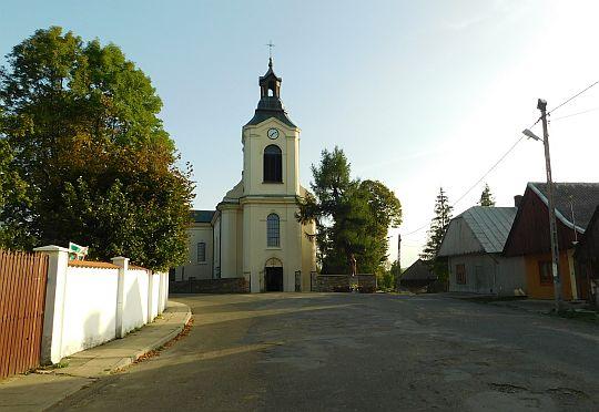 Kościół pw. św. Katarzyny Aleksandryjskiej w Jaśliskach.