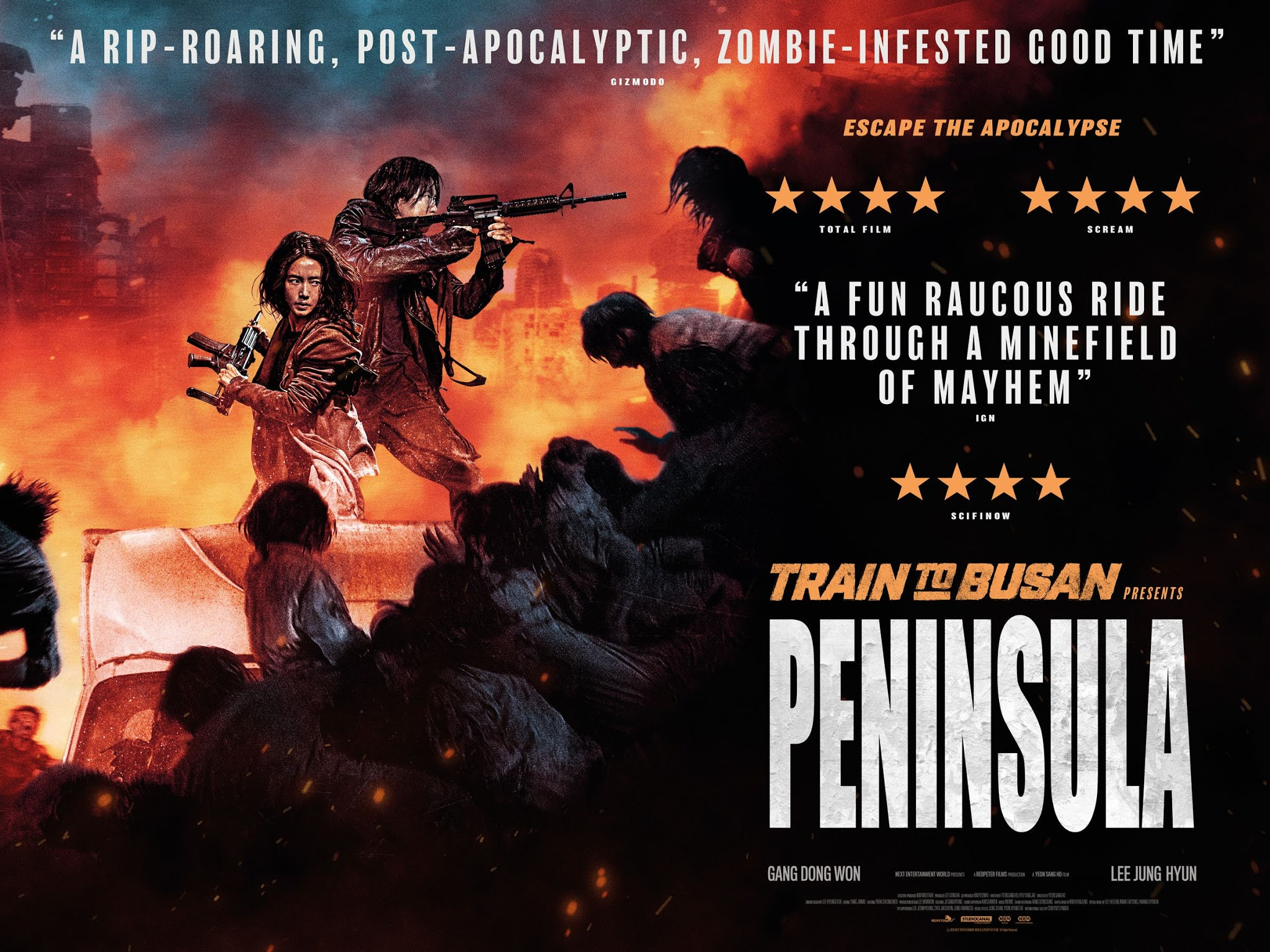 Train to Busan Presents Peninsula | Horror Film Review