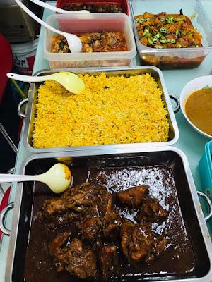 Makan-Makan Santai Dengan Sambal Pengantin Dan Beriani Ayam