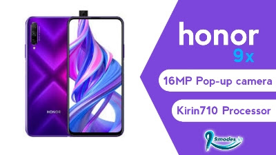 Honor 9x launching with 16MP pop-up camera
