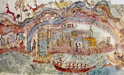 Το ηφαίστειο της Σαντορίνης ήταν η μυθική Χίμαιρα