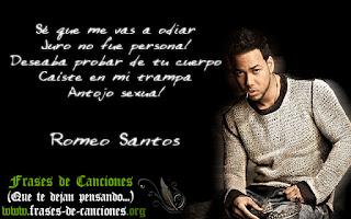 Frases machistas de la canción Perjurio de Romeo Santos - antojo sexual