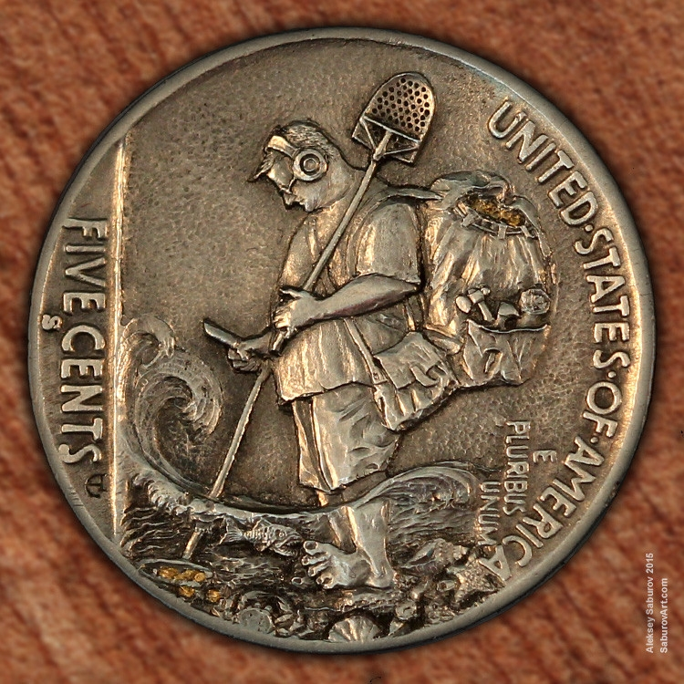 10-Keith-s-Happy-Place-Aleksey-Saburov-Detailed-Carvings-on-Hobo-Nickel-Coins-www-designstack-co