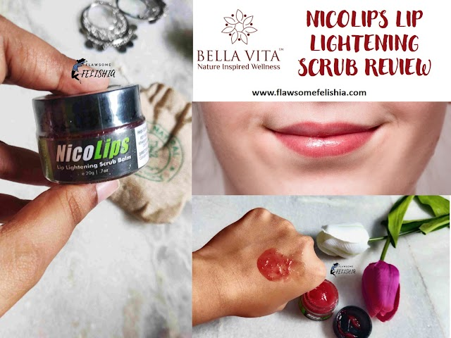 Bella Vita Organic NicoLips Lip Lightening Scrub - Product Review