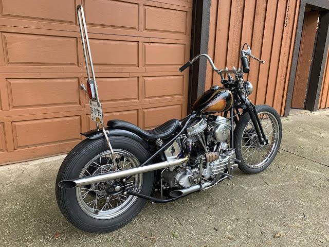 Harley Davidson Panhead 1956 By kaizerbunz Hell Kustom