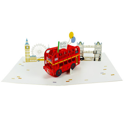 Amazing Paperengineered Laser Cut Birthday Cards Arrival – London Birthday Cards