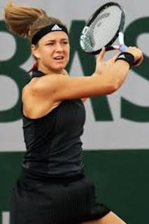 Karolina Muchova In Action