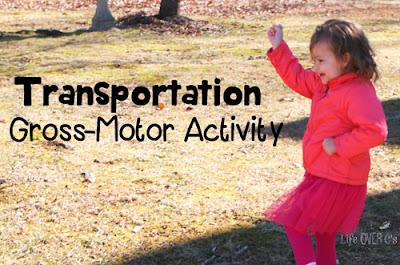 Un juego para trabajar los medios de transporte y la motricidad gruesa: Simon says... Means of transport!