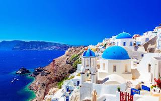 Italy Greece Honeymoon Itinerary santorini