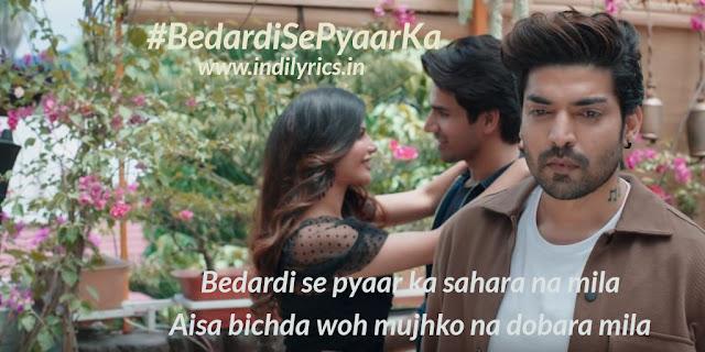 Bedardi Se Pyaar Ka   Jubin Nautiyal  Image, Quotes   Pics   Lyrics