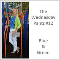 Sydney Fashion Hunter - The Wednesday Pants #12 - Blue & Green
