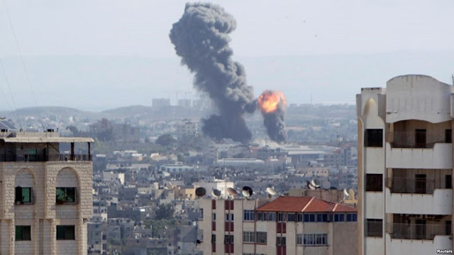 Israel Bombardir 80 Titik di Gaza