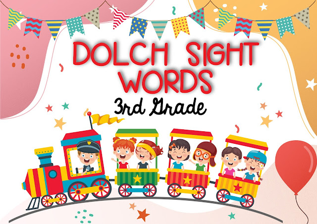 Dolch Sight Words, Basic Sight Words Grade 3