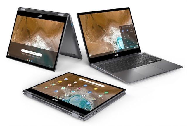 Acer lanza la convertible premium Chromebook Spin 713 - 2K, basada en el proyecto Athena