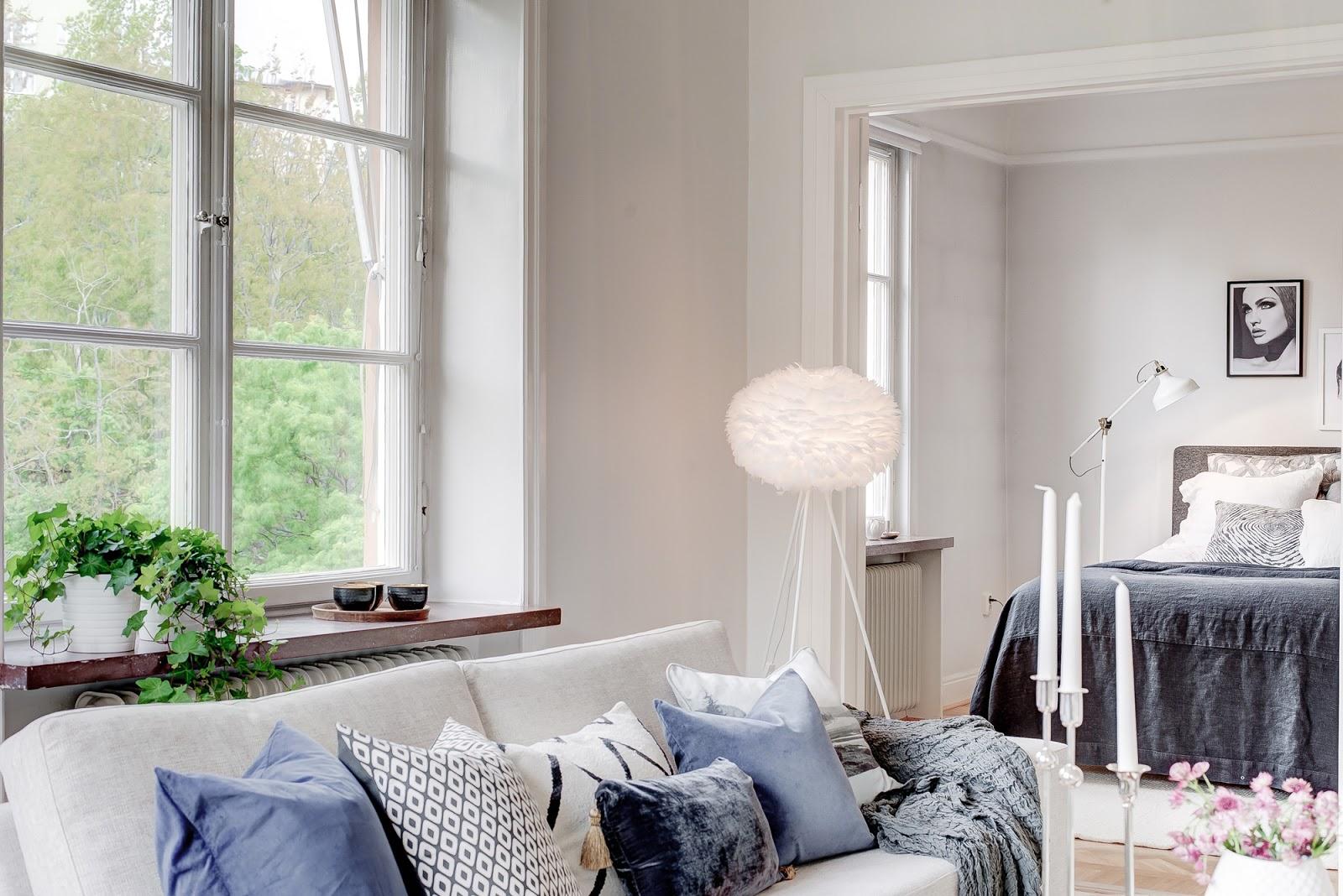 DREAMHOUSE : blått e grått och flott - homestyling