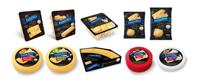 COMER & BEBER: Faixa Azul renova a identidade visual de todo o seu portfólio de queijos