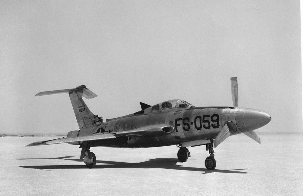 Republic XF-84H Thunderscreech the loudest plane