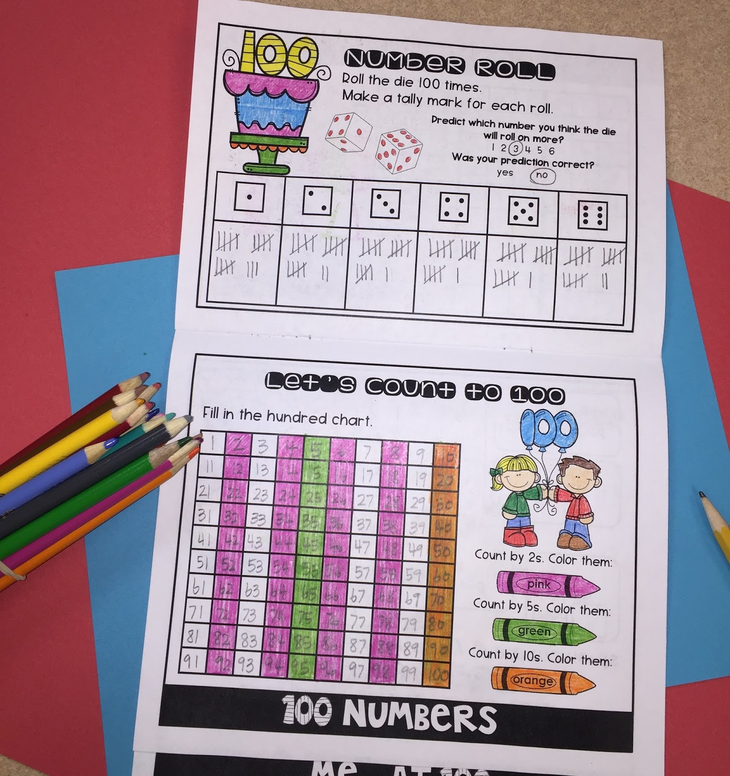 Lory S 2nd Grade Skills 100th Day Of School