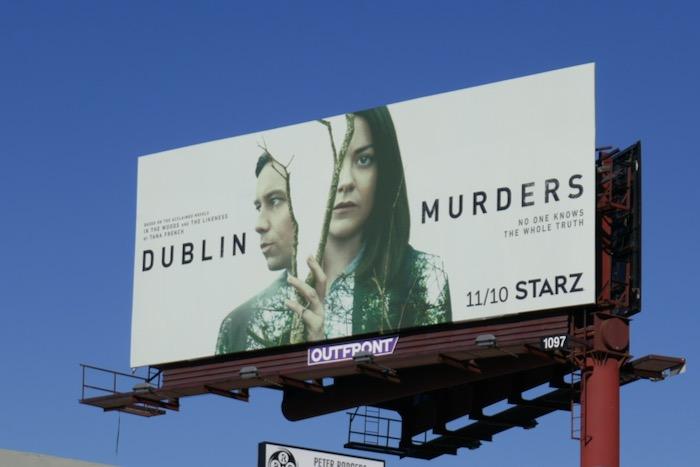 Dublin Murders series premiere billboard