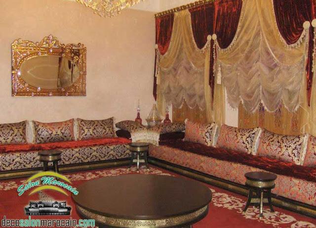 Meubles et décoration pour un salon marocain traditionnel 2017