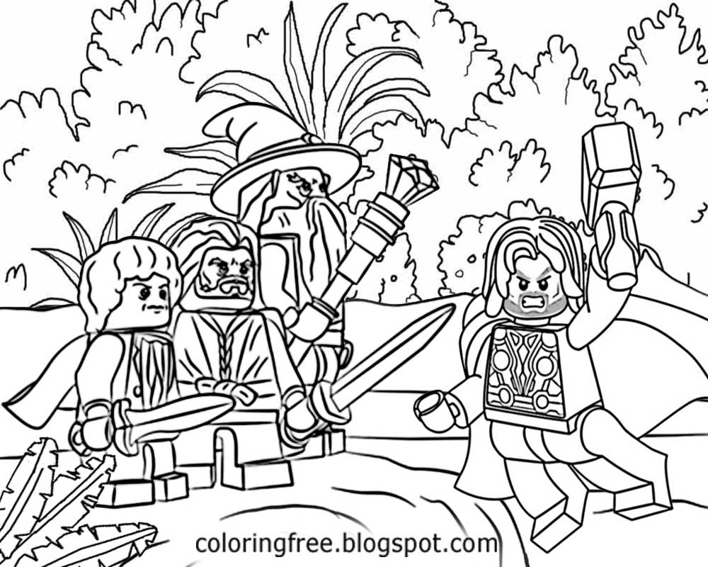 Lego Marvel Coloring Pages To Download And Print For Free: Free Coloring Pages Printable Pictures To Color Kids