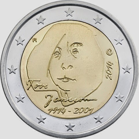 KERAILY.info: Tove Jansson kahden euron erikoisrahaan