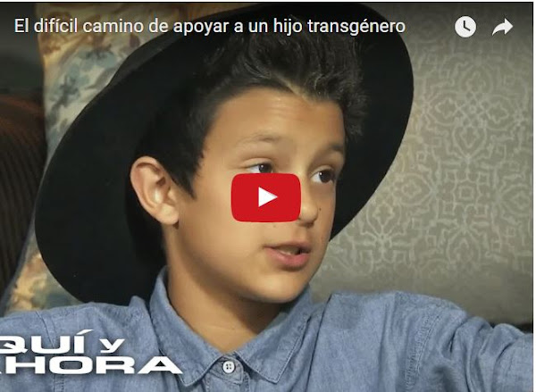 Karina entrevistada debido a la sexualidad de su hijo de 10 años