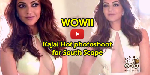 Actress Kajal Agarwal south scope Hot photoshoot