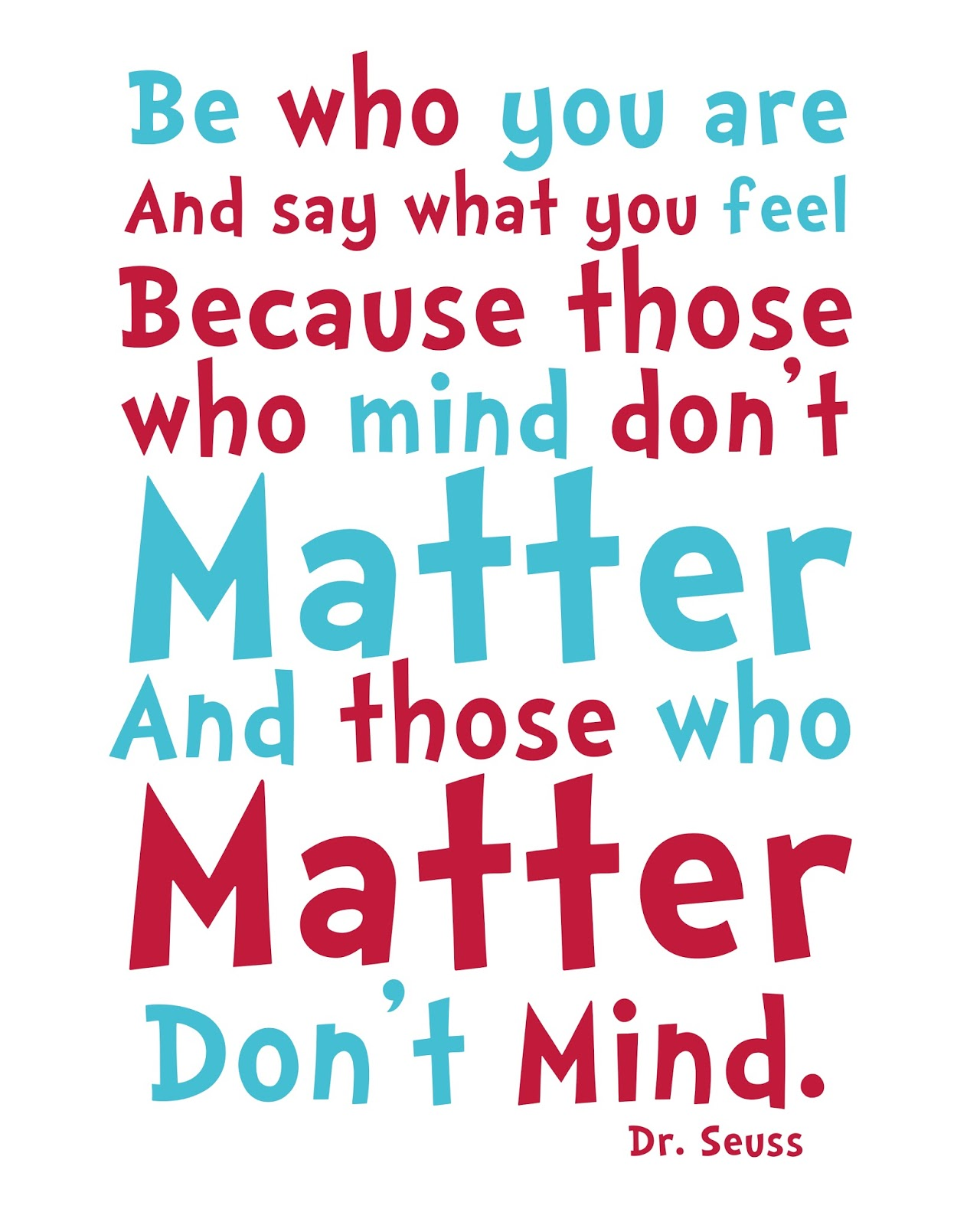 be who you are dr seuss quotes quotesgram
