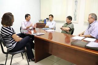 Marco Aurélio reúne equipe técnica do CONSAÚDE e traça planejamento para 2020