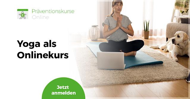 Hatha Yoga – aktive Entspannung und Stressbewältigung (Onlinekurs)
