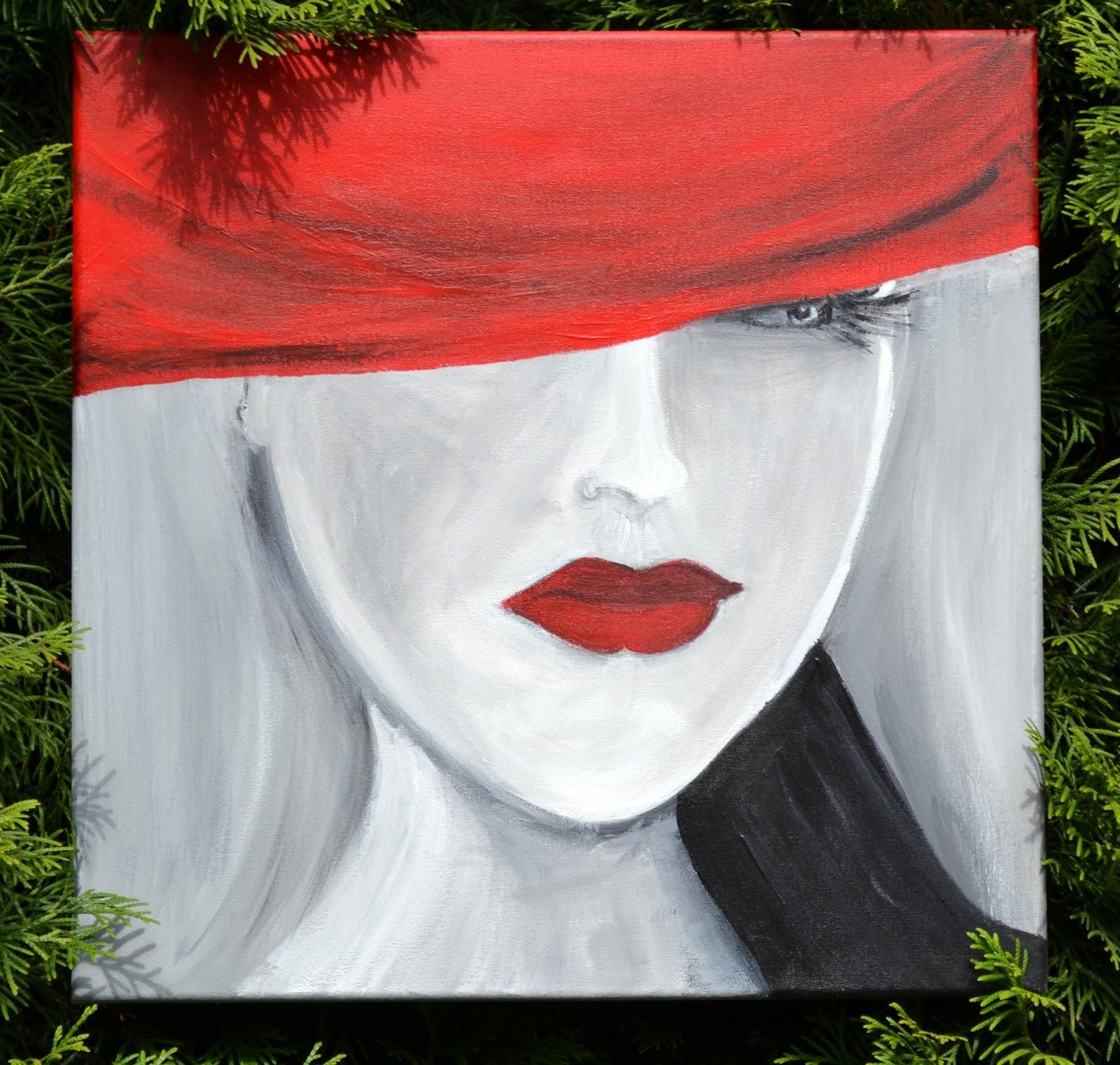 Jak Cię widzą tak Cię piszą i Kobieta w kapeluszu