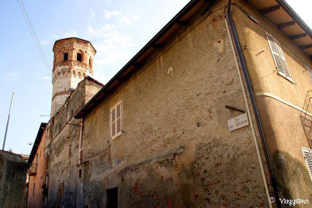La Torre dell'Orologio di forma ottagonale di Avigliana