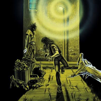 Εξώφυλλο για το Running Free EP των Iron Maiden
