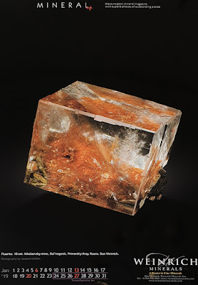 calendario, mineral, fluorita