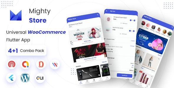MightyStore Dokan Multi Vendor v5.0 - Flutter E-commerce Full App