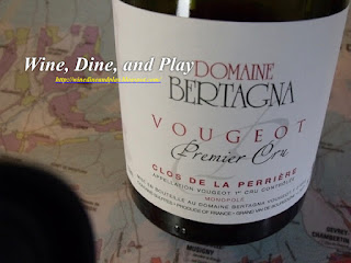Domaine Bertagna in the town of Clos du Vougeot, Burgandy, France