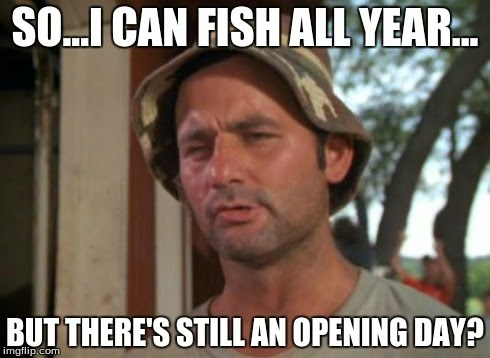 Bill Murray Caddyshack Trout Fishing Meme