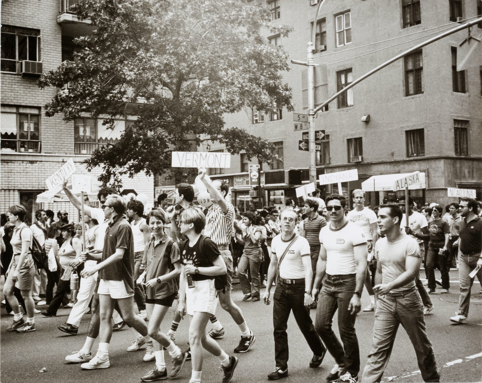 Andy Warhol photograph : Gay Pride, 1976-87