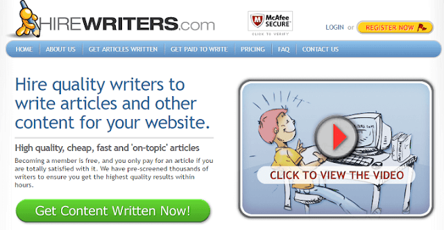 Article writing services reviews